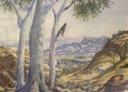 1st Watercolour: Eric Strachan